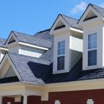 Example of what type of roof shingles is the best roof with house gables.